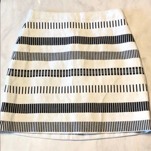 Zara Basic Skirt zipper back. Size Small